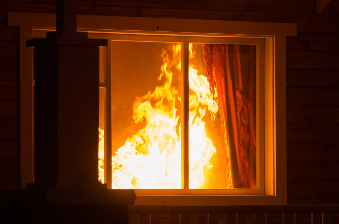 Is accidental fire covered under my house insurance