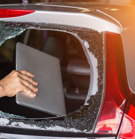 Does car insurance cover my work laptop if stolen from my car?